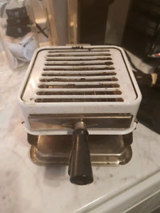 Antique table top stove