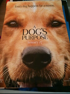A Dog's Purpose movie poster $5