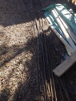 Free rebar and weeping tile