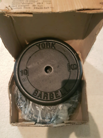 New Cast iron weight plates