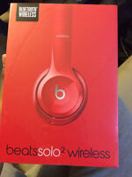 Beats by dre Solo Wireless 2.0 Color Red ORIGINAL