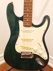 Jay Turser Sea Green Electric Guitar