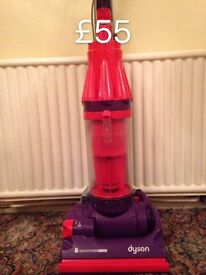 DYSON DC07 FULLY SERVICED FREE SET OF PERFUMED FILTERS RED AND PURPLE 2