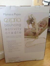 Mamas and papas bouncing chair