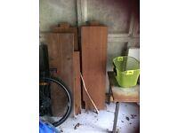 Hard wood planks
