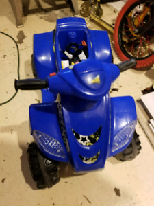 Motorized blue ATV for kids - great for up to 3 year olds!