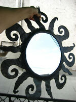 Metal SUN MIRROR - Fair Trade / Miroir de Soleil en Métal