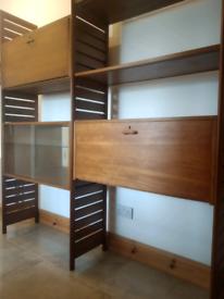 Mid Century Ladderax Storage Facility / Room Divider