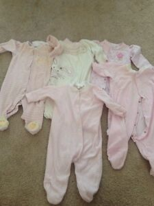 Lot of 19 girl's clothes size 6-9 months, Fall/Winter