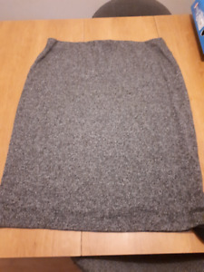Multicolored Grey Skirt