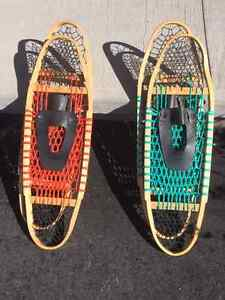 Handcrafted Snowshoes $30.00 a pair