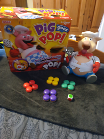 Pig goes pop & buckaroo games