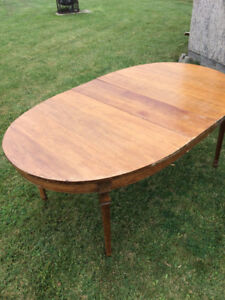 Dining Table- Solid Oak
