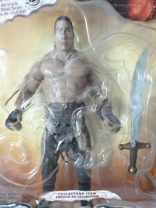 "Scorpian King ""The Rock"" Action Figure King Mathayus"
