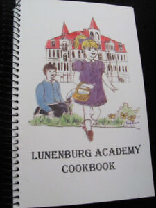 "COLLECTIBLE: ""The Lunenburg Academy COOKBOOK, N.S."""