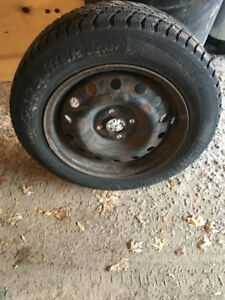 4 winter tires with rims 185/65/r15