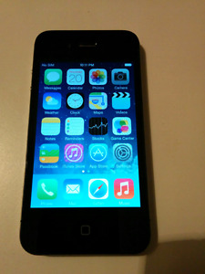 IPHONE4 16GB ROGERS/FIDO/CHATR