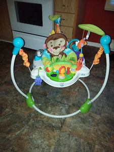 Precious Planet Jumperoo- Unisex, Folds, Musical,Heights,etc