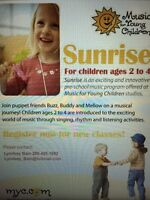Music for young children sunrise class
