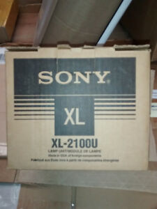 Sony XL-2100U  XL2100U DLP Lamp NEW