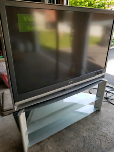 "Sony 50"" Projection TV with stand"