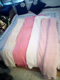 Candlewick blankets.