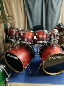 SUPERBE SHELL KIT SONOR FORCE 2007