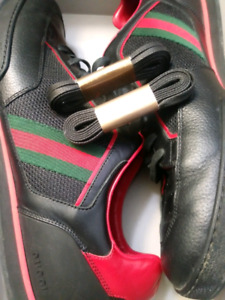 Authentic Mens Gucci Ace leather sneaker Size 13