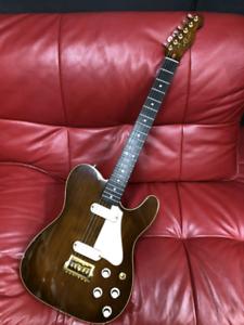 Fender 1983 Tele Elite Walnut 22k Gold plated hardware Very Rare