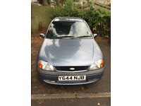 2001 Ford Fiesta, taxed, runs smooth with no faults ONO
