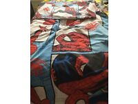 Spider-Man quilt cover single