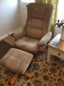 SWIVEL RECLINERS and FOOTSTOOLS