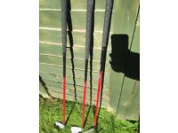 Dunlop set of 3 golf clubs