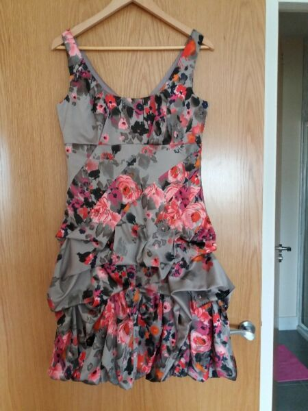 Monsoon floral dress size 12