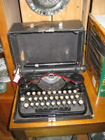 Vintage Underwood Typewriter -- FROM PST TIMES Antiques & Coll