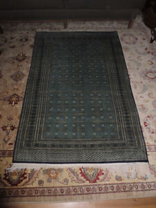 Vintage 1960's  Genuine Wool Carpet , Baccarat , 48 by 72 inches