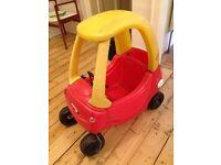 Little Tykes sit in toy car