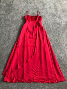 Grad dress - Red - Size 10