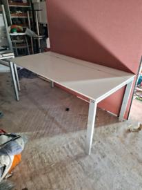 Executive office desks height adjustable