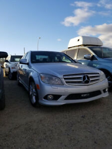 2009 Mercedes Benz C class AWD 300 Luxury for sale!