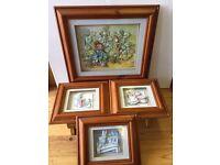 Handmade Pictures of Peter Rabbit Set
