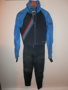 Men's M BARE Wetsuit Jacket and Long Johns