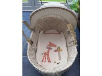 Zam bee zee Moses basket hardly used