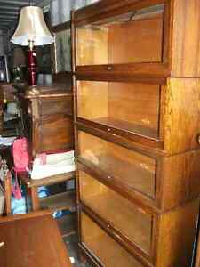 Two Antique Stacking Bookcases