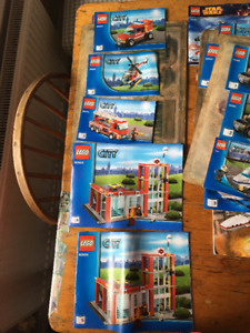 Loads of Lego for Sale - pieces and instructions for 20 sets