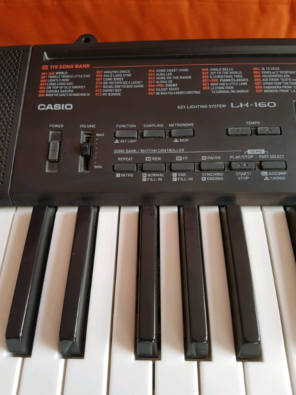 Casio LK 160 light up keyboard excellent condition | in Kilburn, London |  Gumtree