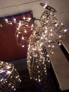 To light up angels 42 inches high$25 each