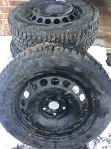 New Studded Winter Tires with new Rims