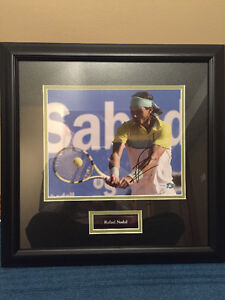 Signed Rafael Nadal Piece