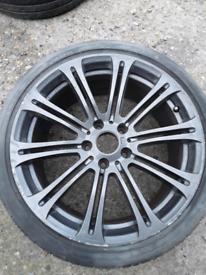 """19"""" single BMW style 220 - 3 series E90 alloy wheel (460)"""